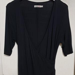 JustFab Women's Black Dress